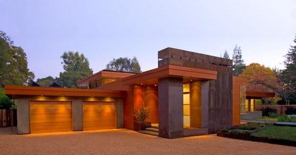 Fachadas de casas fachadas de cocheras de casas - Casas de una planta rusticas ...
