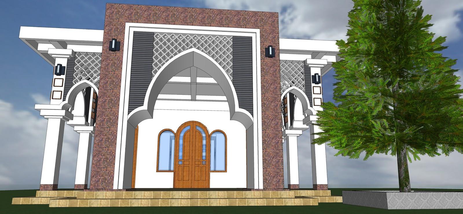30 Model Masjid Minimalis Dengan Model Masjid Modern dari ...
