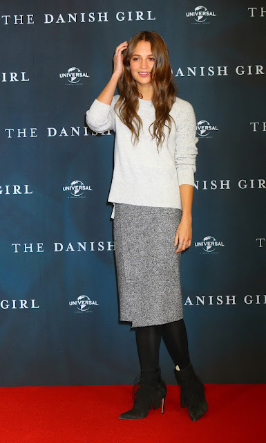 Actress, @ Alicia Vikander - The Danish Girl premiere in Berlin, Germany