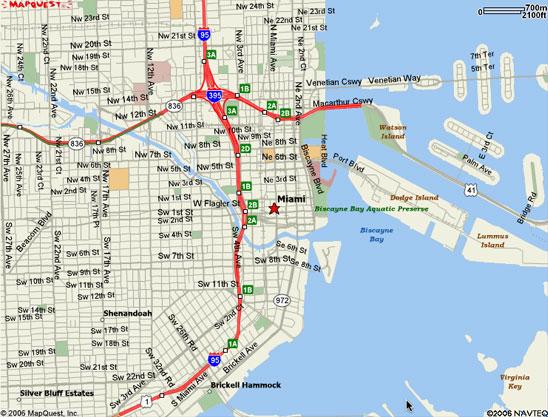 Miami South Beach Bus Map