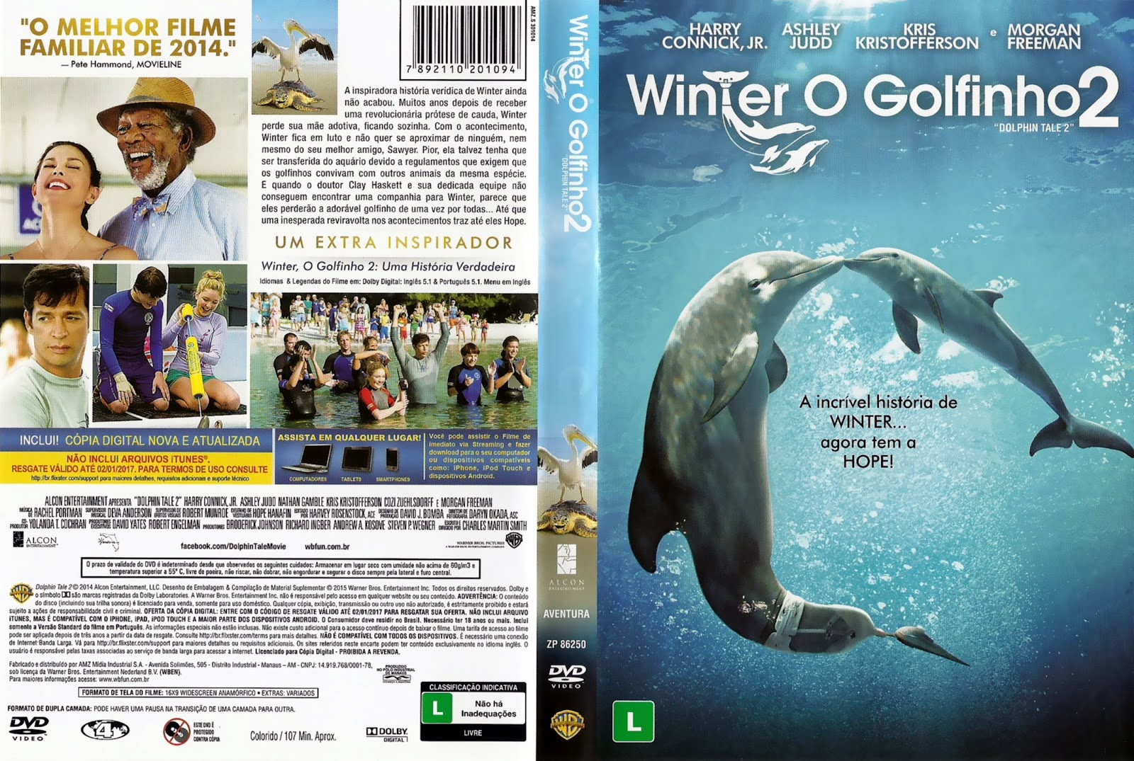 Capa DVD Winter O Golfinho 2