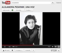 La voz de Pizarnik