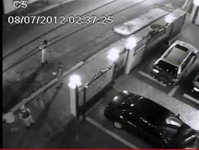 Vídeo prueba que teniente asesino mintió a investigadores de la Policía