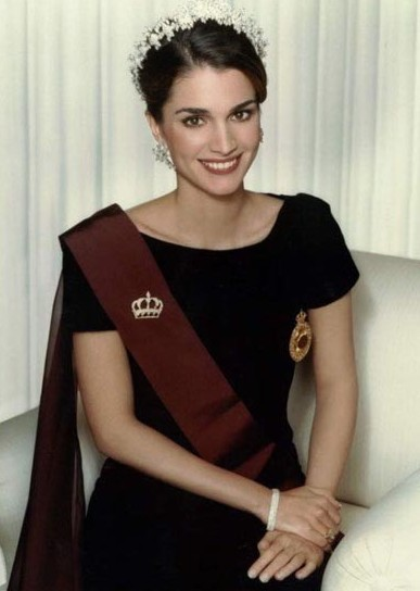 Queen Rania-al- Abdullah Of Jordan ~ Celebrity In Style Queen Rania Al Abdullah