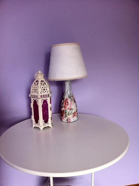 bedside lamp handmade