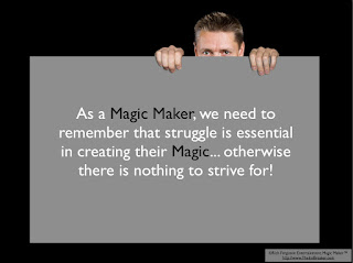 Magic Maker Motivational Message