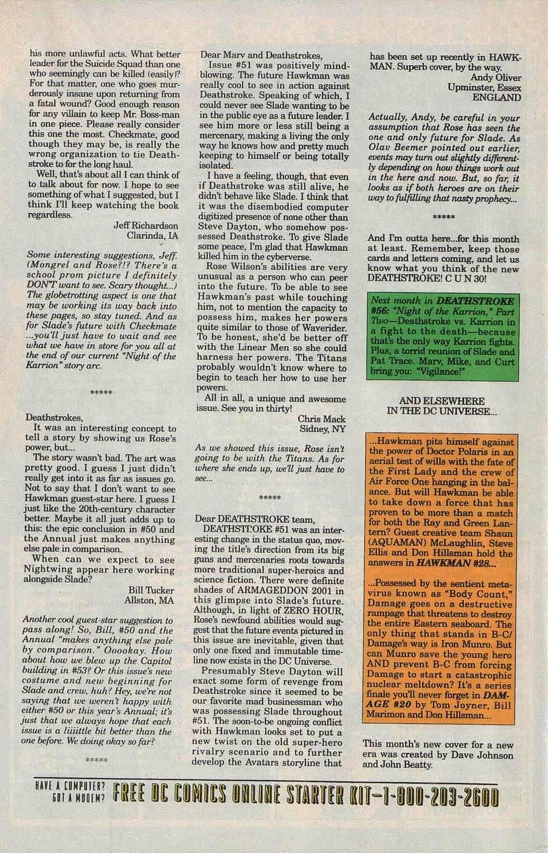 Deathstroke (1991) Issue #55 #60 - English 25