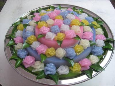 ขนมชั้น_Layered Dessert_段々になったお菓子