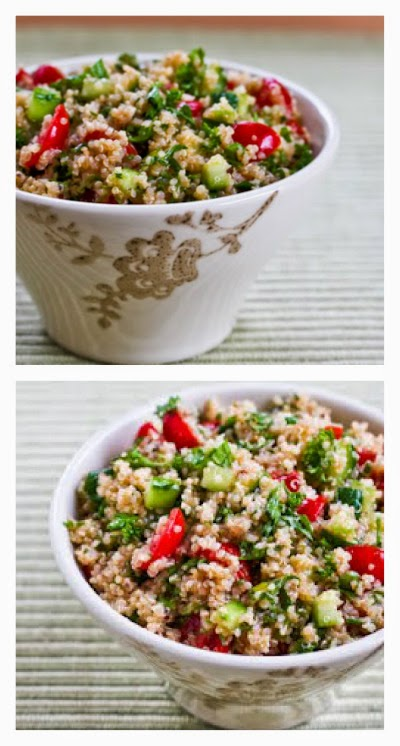 Kalyn's Kitchen®: Recipe for Quinoa Tabbouleh Salad with Parsley and ...