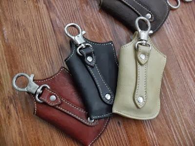 TTK x Dress Code leather 第三彈 Buffalo Leather - Derringer Holster 電話套