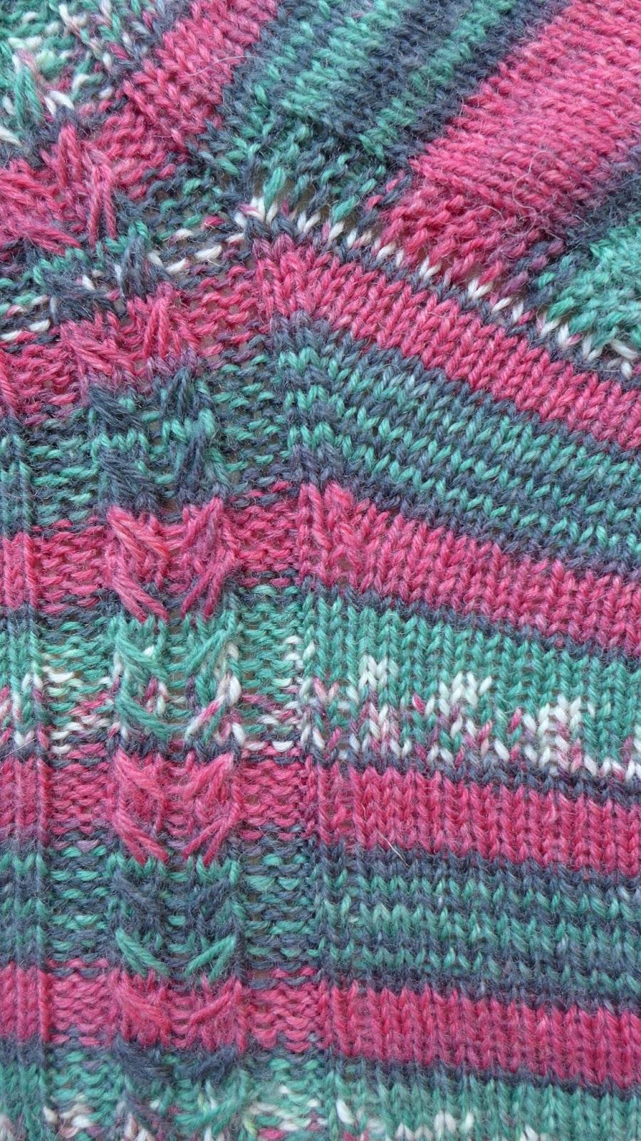Fine Einfaches Zopfmuster Adornment - Decke Stricken Muster ...