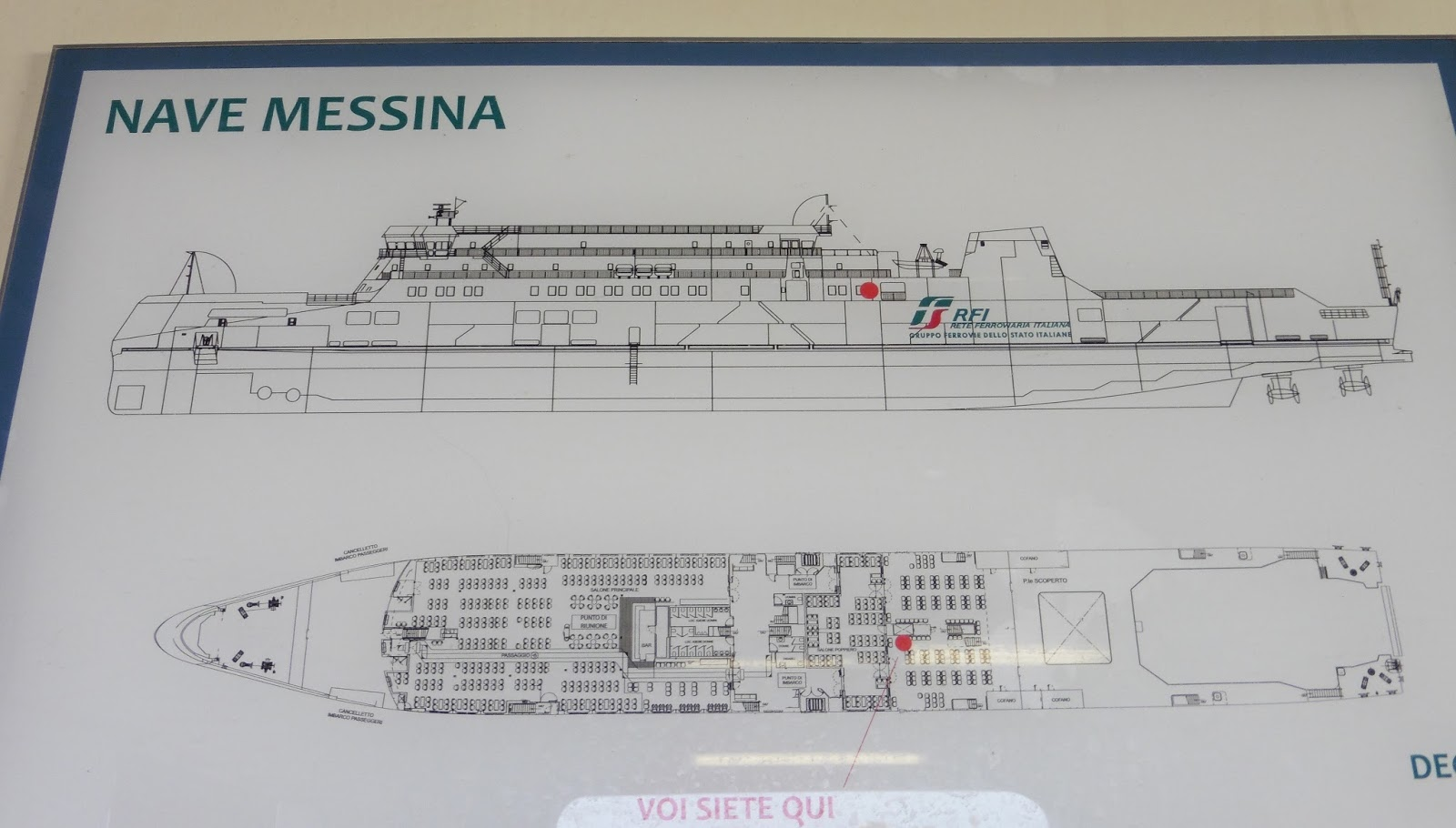 Haynes world ferrying in 39 15 24th june messina for The world deck plans