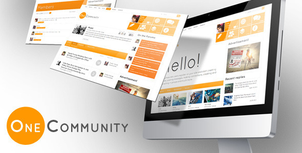 Download OneCommunity BuddyPress WordPress Theme Free