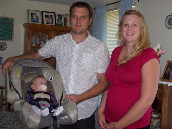 My nephew Will, his wife Nicole and the newest family member, my great niece Elizabeth