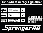 Sprenger Taxi