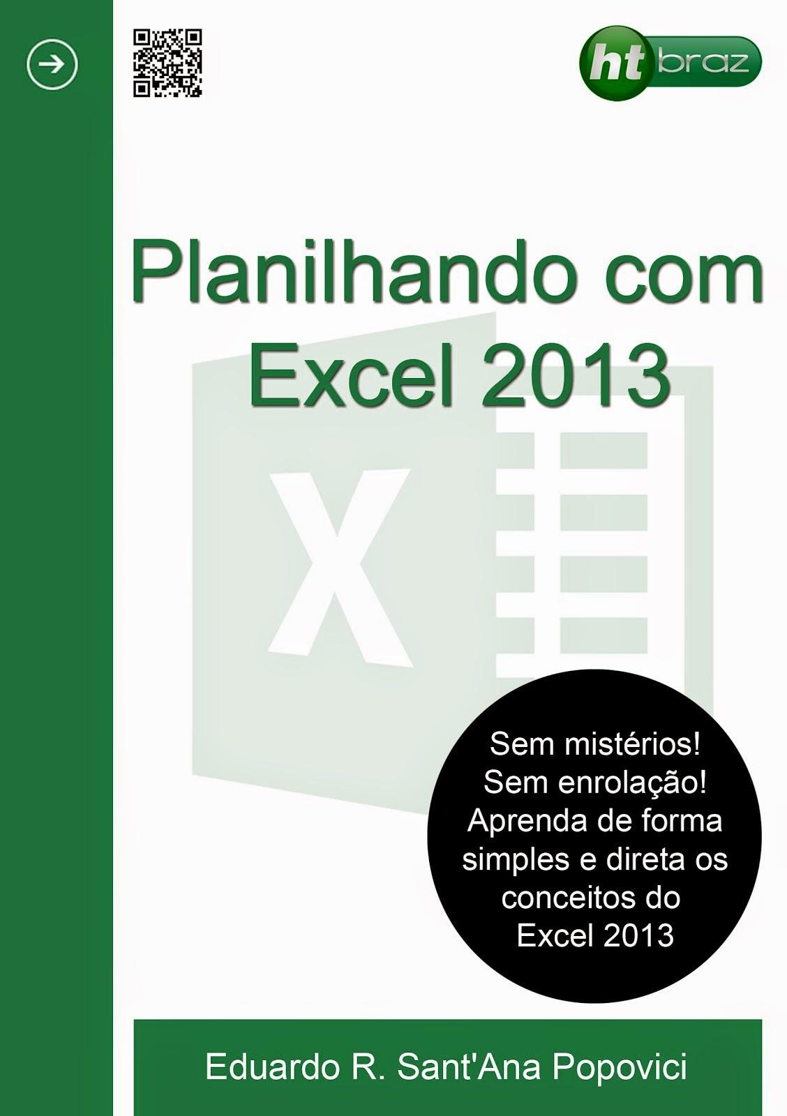 Planilhando com Excel 2013