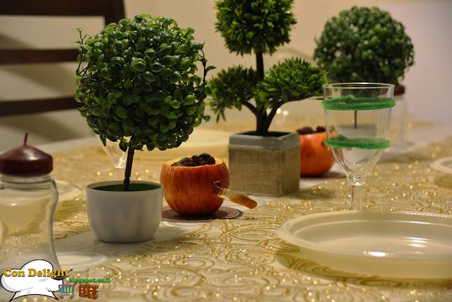 Tu B'Shvat table design