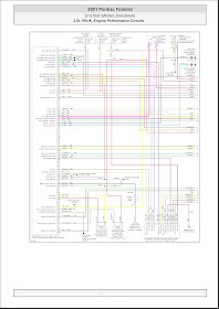 V Manual: 2001 Pontiac Firebird System Wiring Diagrams 16 3.8L VIN K,  Engine Performance Circuits  V Manual - blogger