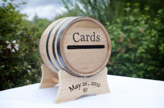 Rustic Wedding DIY Think Outside the Box 10 Alternatives for the – Wedding Card Box Alternatives