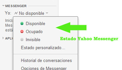 estado yahoo messenger