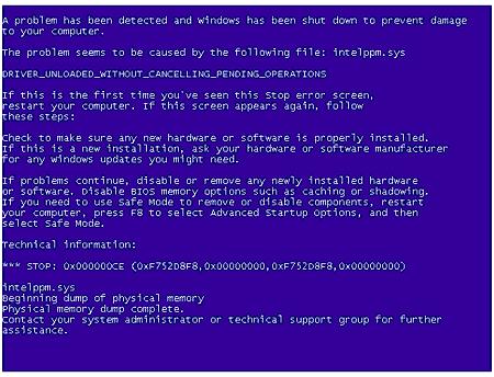 Tips Menghindari Blue Screen Of Death (BSOD) Pada Komputer Laptop