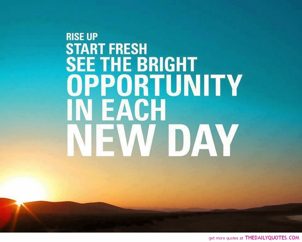 rise up and make new start motivation quote