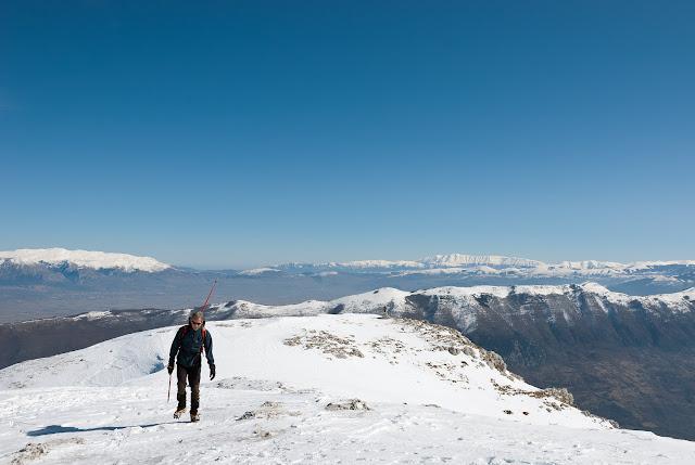 Vetta del monte Càntaro