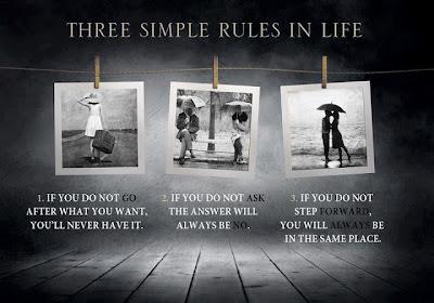3 reglas sencillas vida