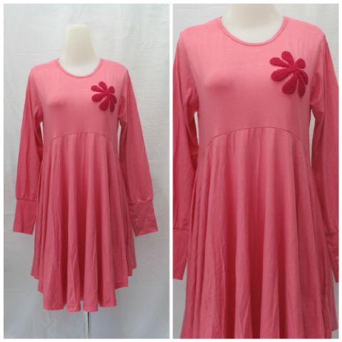 Blouse muslimah trendy mexican blouse Baju gamis model najwa