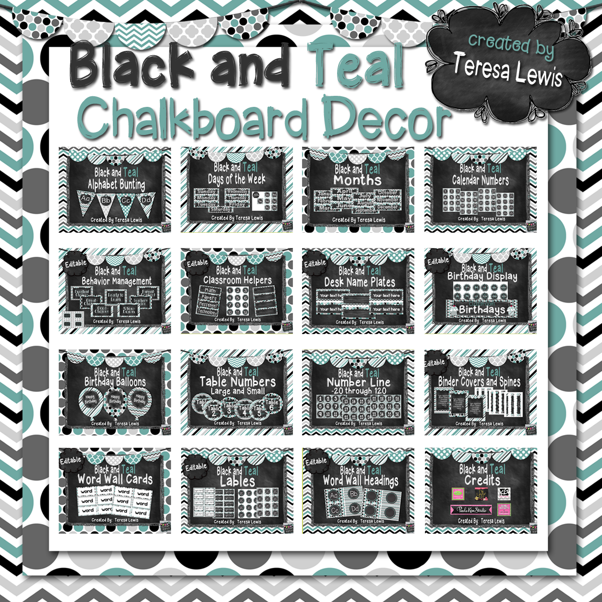 Famous Black and Teal Decor 1200 x 1200 · 1717 kB · png