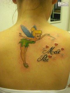 Imagens De Tatuagens Tatuagem Da Sininho Fotos Desenhos
