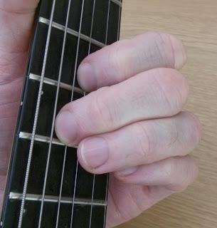 Aadd9 guitar chord