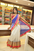Mounika Reddy Glam pics in Half saree-thumbnail-16
