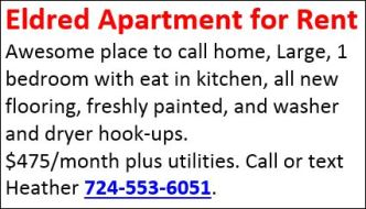 Eldred Apartment For Rent