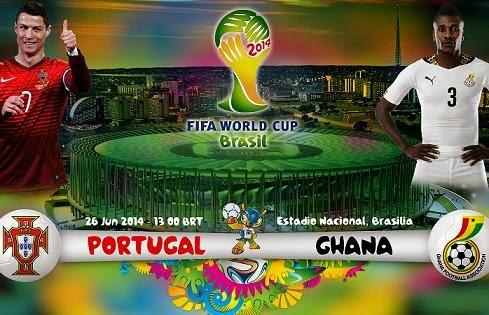 Partido Portugal vs Ghana
