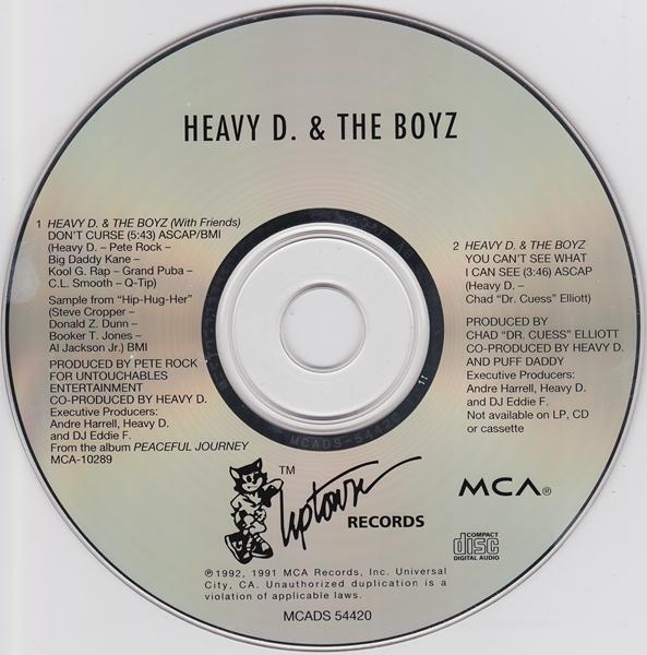 Heavy D & The Boyz – Don't Curse (CDS) (1992) (320 kbps)