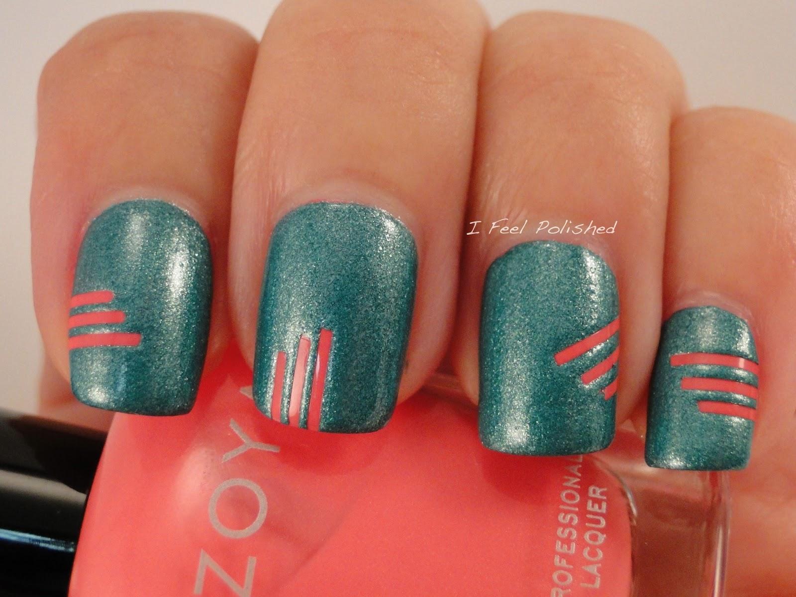 I Feel Polished!: Striping Tape Nail Art