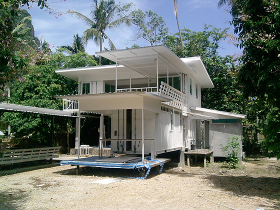 Container home design for hot climate thailand