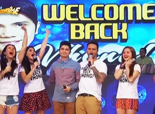 Vhong Navarro Return on It's Showtime