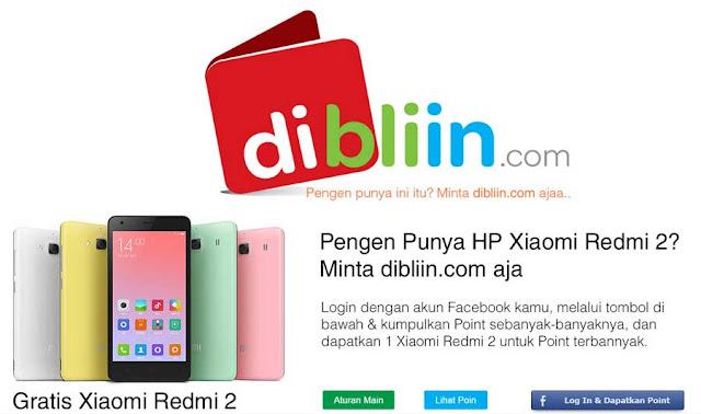 Mau Xiaomi Redmi 2 gratis?, disini tempatnya