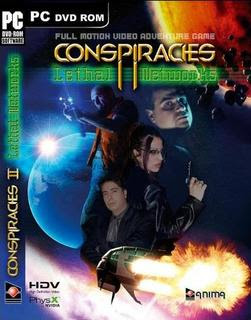 Conspiracies II Lethal Networks full free pc games download +1000 unlimited version