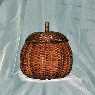 Buy a Wicker Pumpkin Basket