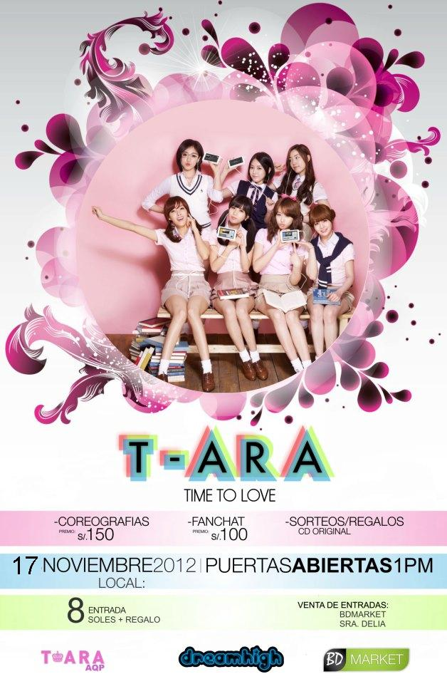 PROYECCION T-ARA Time To Love (01 dic)