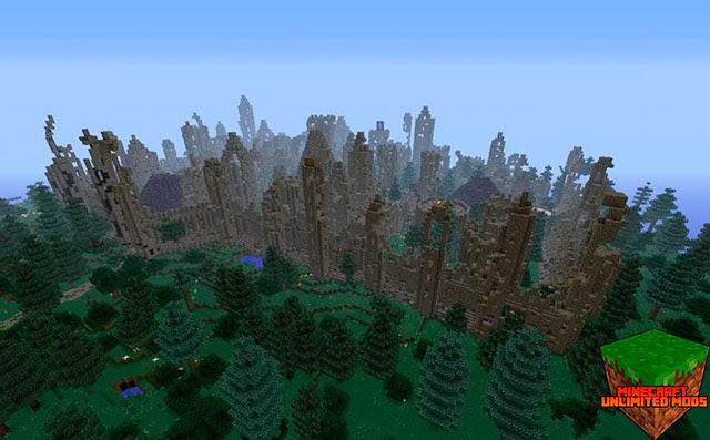 Walled City & Great Walls Mod ruinas