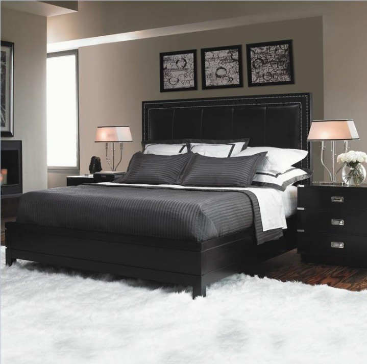 Bedroom Ideas With Black Furniture Via