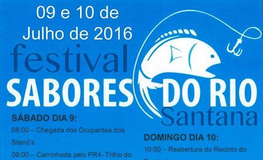 SANTANA (NISA): FESTIVAL DOS SABORES DO RIO