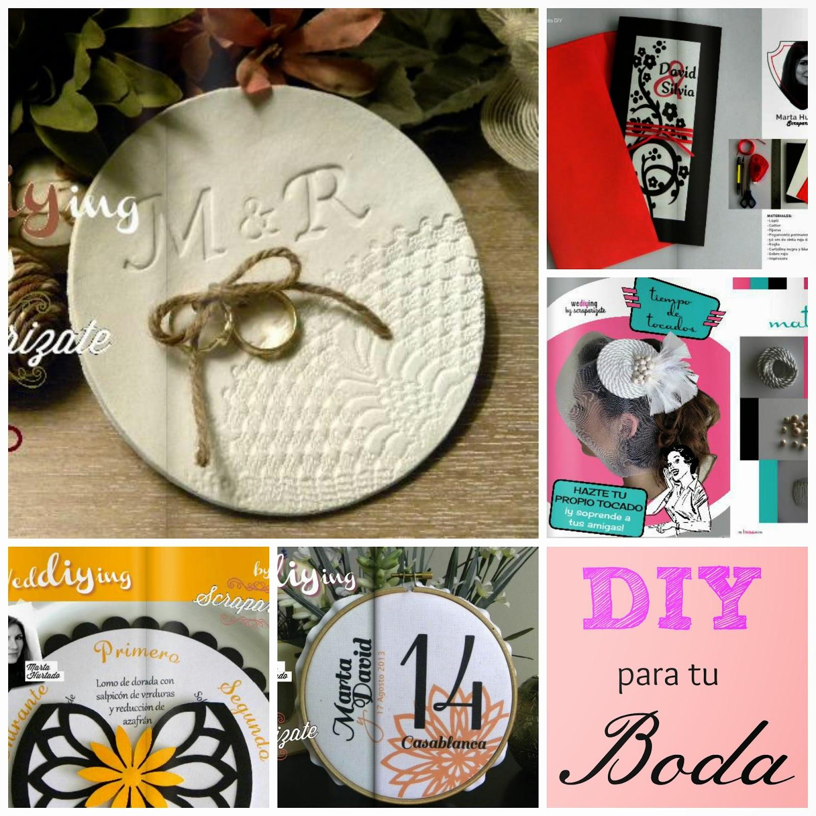 5 DIY originales para tu Boda blog de bodas
