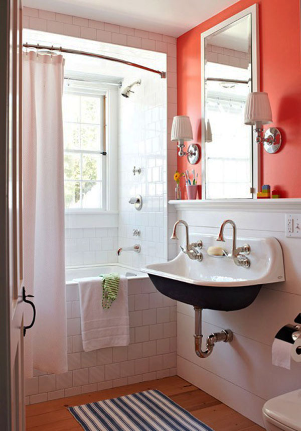 Shower Curtains black and red shower curtains : Diseño de Interiores & Arquitectura: 30 Ideas para Cuartos de Baños ...
