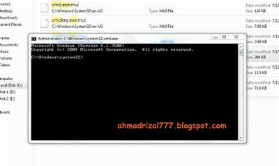 Cara mengatasi tulisan windows 7 build 7600 this copy of windows not