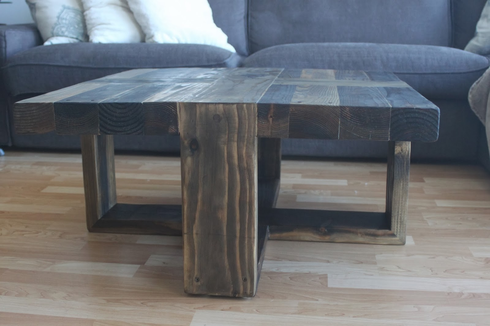 The Polish Carpenter Unique Rustic Coffee Table